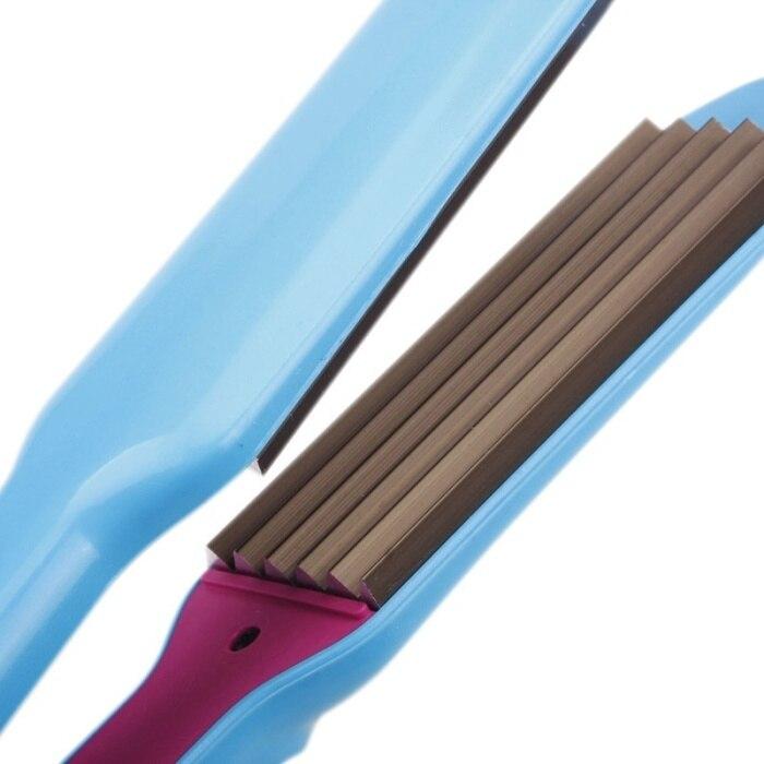 Ne novo ondulado curling cabelo chapinha straightener