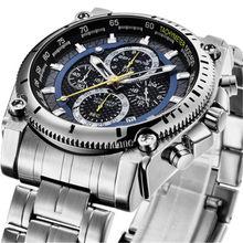 Ben Nevis 2020 männer Silber Edelstahl Quarz Uhren Stahl Uhr Für Männer Wasserdichte Business Uhr Relogios Masculinos