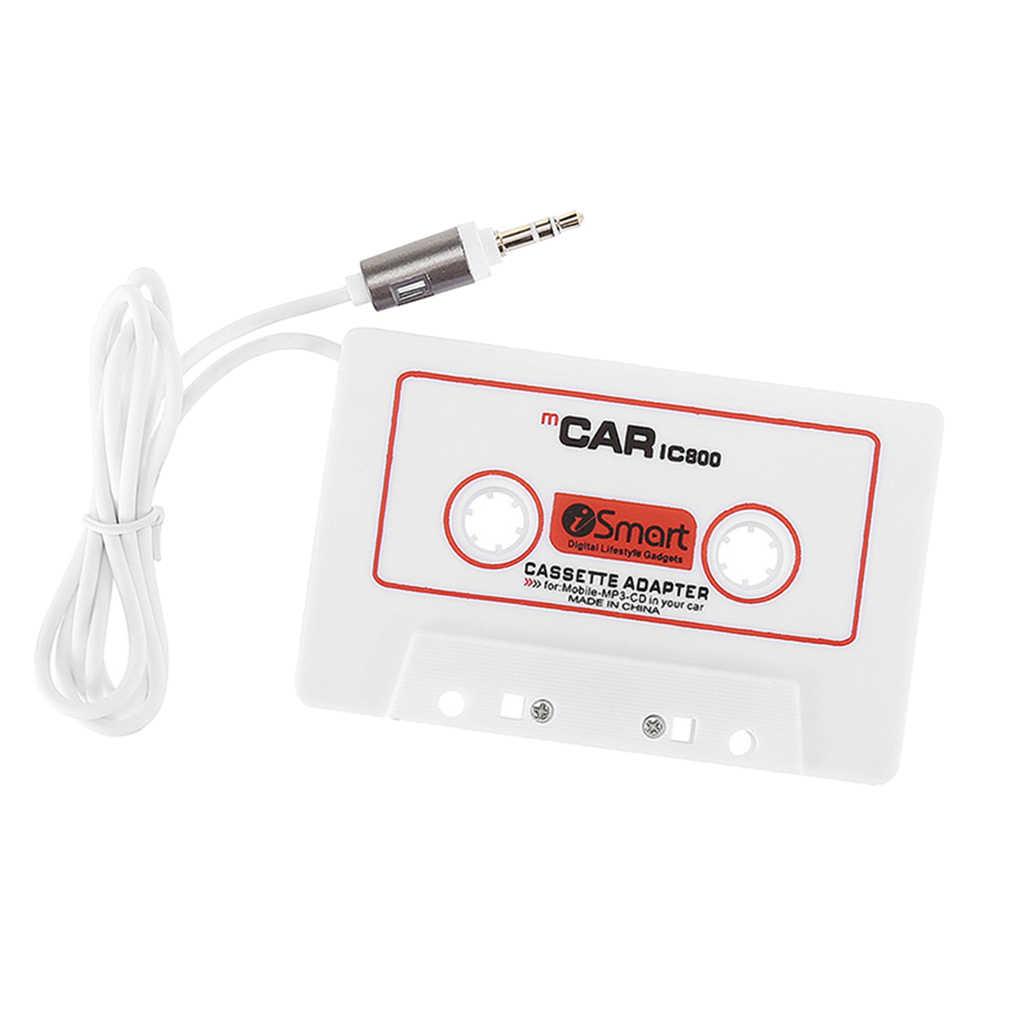 AUX аудио кассета с музыкой магнитофон адаптер для Автомобильное CD-радио MP3