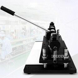 SD6-3A/SD6-3B Manual Die Cutting Mesin Die Stamping Mesin Sampel Mesin Pemotong Kulit Kecil Mesin Pemotong (380*120 Mm)