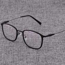 Alloy  Glasses Frame Men or women Ultralight Square Myopia Prescription Eyeglasses Male Metal Optical Frame Eyewear D825