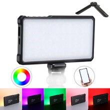 فيجيم VL 3 3000K 6500K RGB LED الفيديو الضوئي CRI 96 التصوير الإضاءة ملء ضوء قابل للتعديل DSLR ضوء الكاميرا