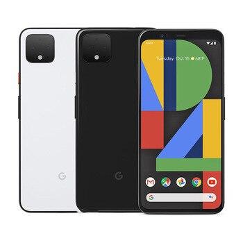 Перейти на Алиэкспресс и купить Новый оригинальный смартфон Google Pixel 4, 4G, Snapdragon 855, Восьмиядерный, 5,7 дюйма, 6 ГБ ОЗУ 64 Гб/128 Гб ПЗУ, NFC Face ID