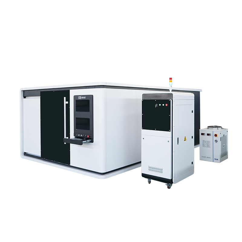 Low cost china supply cnc fiber cutter machine metal cutting with covered