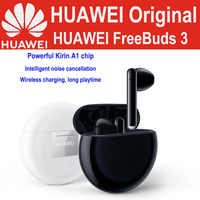 Huawei Freebuds 3 Wireless Bluetooth Kopfhörer Knochen Sensor leitung Active Noise Reduction wahre wireless headset Qi Standard