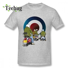 Mens Fashion Going Home Vespa Italian Scooter Piaggio T Shirt Men Leisure Unique Homme Tee Camiseta