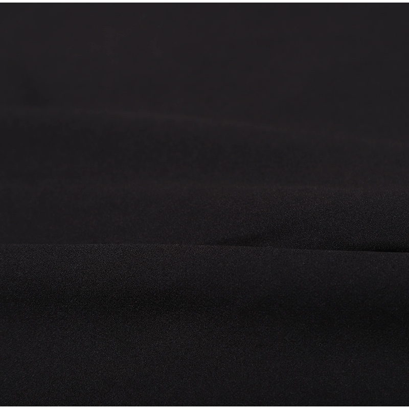 Black White Lace Hollow Out Wide Leg Jumpsuit