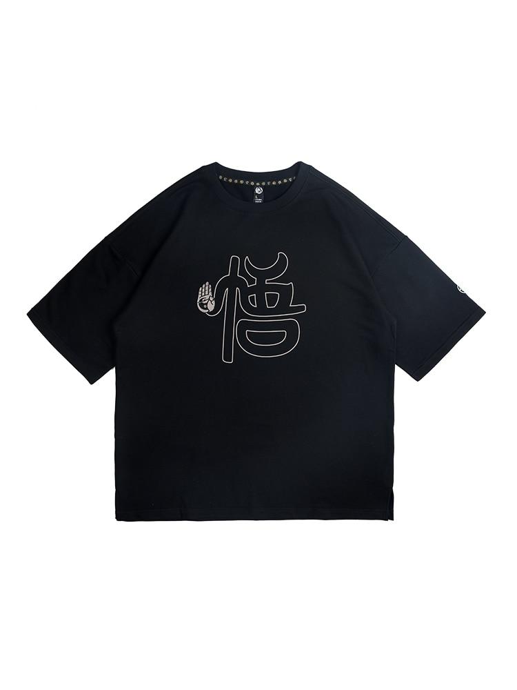 Estate di sesso maschile e Femminile T shirt Tee di Skateboard Ragazzo Skate Tshirt Magliette e camicette 100% cotone Degli Uomini di Roccia Hip hop Street wear maglietta di modo - 2