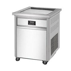 Jamielin 50cm pojedyncza kwadratowa płyta grzewcza maszyna do lodów tajskich  handlowa smażone mleka maszyna do jogurtu  maszyna do lodów Maszyny do lodów AGD -