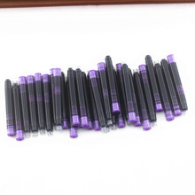 Erasable Ink-Cartridge Fountain-Pen Office-Supplies 10pcs/black with Case School Refill-Ink