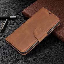 Кожаный чехол кошелек с откидной крышкой для huawei p20 lite