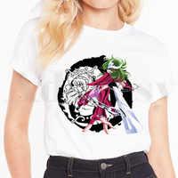 Pegasus Saint Seiya Phoenix Anime Harajuku camiseta Hip Hop chica impresión camisetas Harajuku camisetas de moda de los hombres camiseta de verano