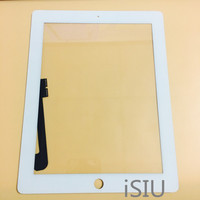 Touch Screen For Apple iPad 2 3 4 Touchscreen Panel For iPad2 iPad3 iPad4 Display Screen Front Glass Pad Tablet Spare Parts|Tablet LCDs & Panels|Computer & Office -