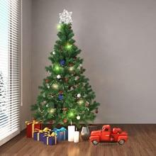 Decoraciones para árboles de Navidad para el hogar Vintage Navidad camioneta de metal rojo con ruedas Mesa decoración superior niños regalo juguete regalos de navidad