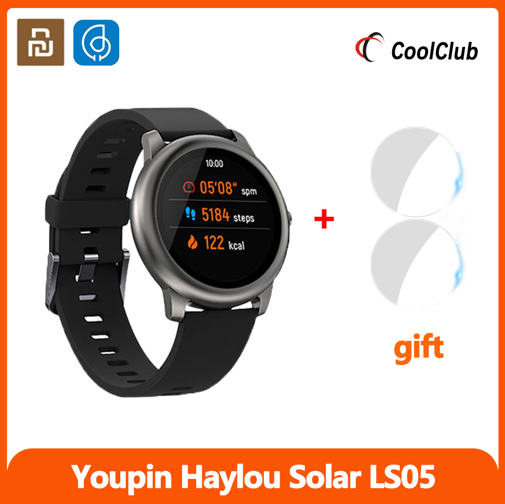 Xiaomi reloj inteligente youpin Haylou Solar LS05, Monitor de ritmo cardíaco durante el sueño, IP68, resistente al agua, 30 días en espera, versión Global Original|Relojes inteligentes| - AliExpress