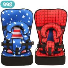 AAG, мультяшное детское безопасное сиденье, детское кресло, подушка, коврик, детская коляска, обеденные стулья, дорожный ремень, подушка, детское кресло-переноска