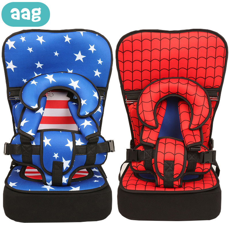 AAG Cartoon Child Safety Seat Baby Chair Seat Cushion Pad Mat Kid Stroller Dinning Chairs Travel Belt Cushion Baby Chair Carrier