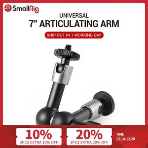 """Image 1 - SmallRig Camera 7 inch Articulating Arm EVF Mount Microphone Mount Universal 1/4"""" to 1/4"""" Aluminum Magic Arm Camera 2065"""