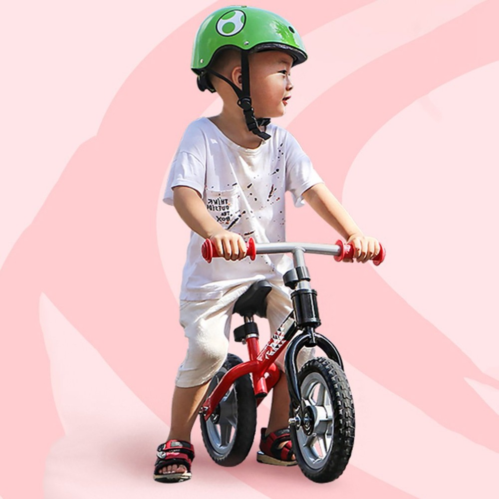 H89888930ede84af7bbdad37720f8f50ab 10 inch Children Balance Bike Kids Riding Bicycle Indoor Outdoor Balance Bicycle No Foot Pedal Baby Walker Riding Toy
