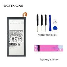 DCTENONE Phone Battery EB-BJ330ABE 2400mAh For Samsung Galaxy J3 2017 SM-J330 J3300 SM-J3300 Replacement Batteries аксессуар защитное стекло samsung sm j330 galaxy j3 2017 aksberry