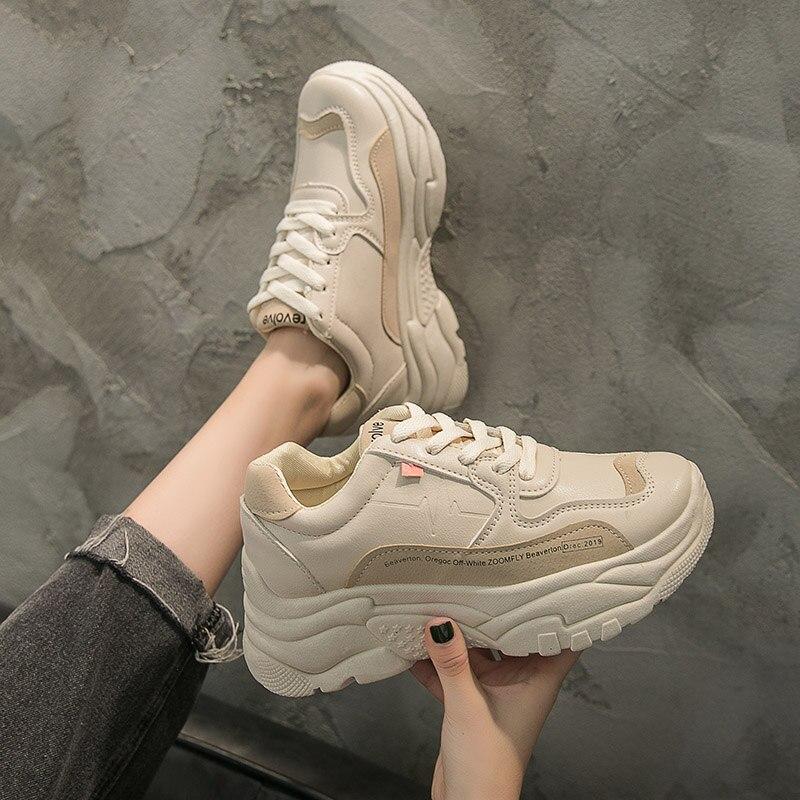 Casual Sneakers Women Shoes Tenis Platform Woman 2020 Luxury Sneaker Woman Basket Femme Buty Mujer Pisos Ladies Vulcanize Shoe 1
