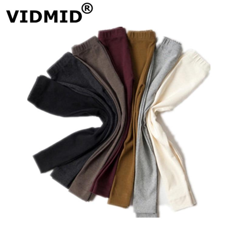 VIDMID new Baby Girls Pants leggings candy colors Autumn Cotton knitting Baby kids infant children Pants Leggings Trousers 4006 1
