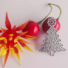 Christmas tree blade paper jam gift new metal and business card printing mould DIY