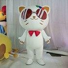Robot Cat Mascot Cos...