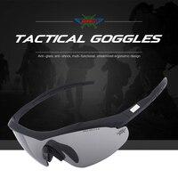 Ordu gözlük Koruyucu Askeri gözlük paintball çekim gözlük Taktik Polarize erkek güneş gözlüğü