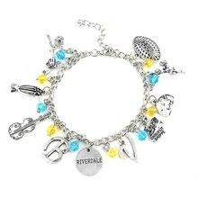 New Riverdale Charm Bracelet TV Inspired All logos Women Jewelry Gift