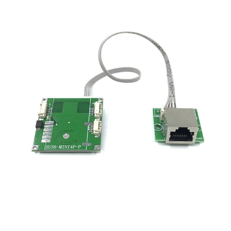 Mini PBCswitch Module PBC OEM Module Mini Size 3/4/5 10/100Mbps Ports Network Switches Pcb Board Mini Ethernet Switch Module