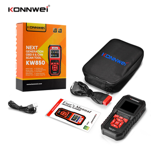 Image 5 - KW850ためOBD2スキャナeodb can自動スキャナーワンクリックアップデート車の診断スキャンツールバッテリーテスター8言語SK1803