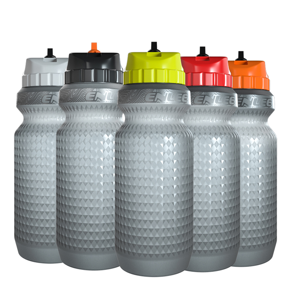 ENLEE 650ml Cycling Water Bottle Leak-Proof Outdoor Sports Portable Bottle For Bicycle Drinking Running Bike Water Bottle