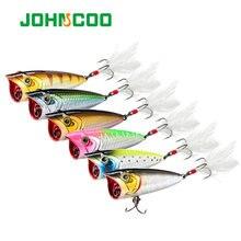 Johncoo popper Рыбная приманка 60 мм 78 г воблер пресноводный