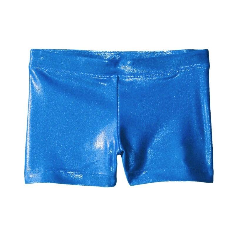 Гимнастикой для девочек костюм Шорты высококачественный яркий цвет корпуса балета, для занятий гимнастикой, практические занятия танцами одежда Шорты - Цвет: blue