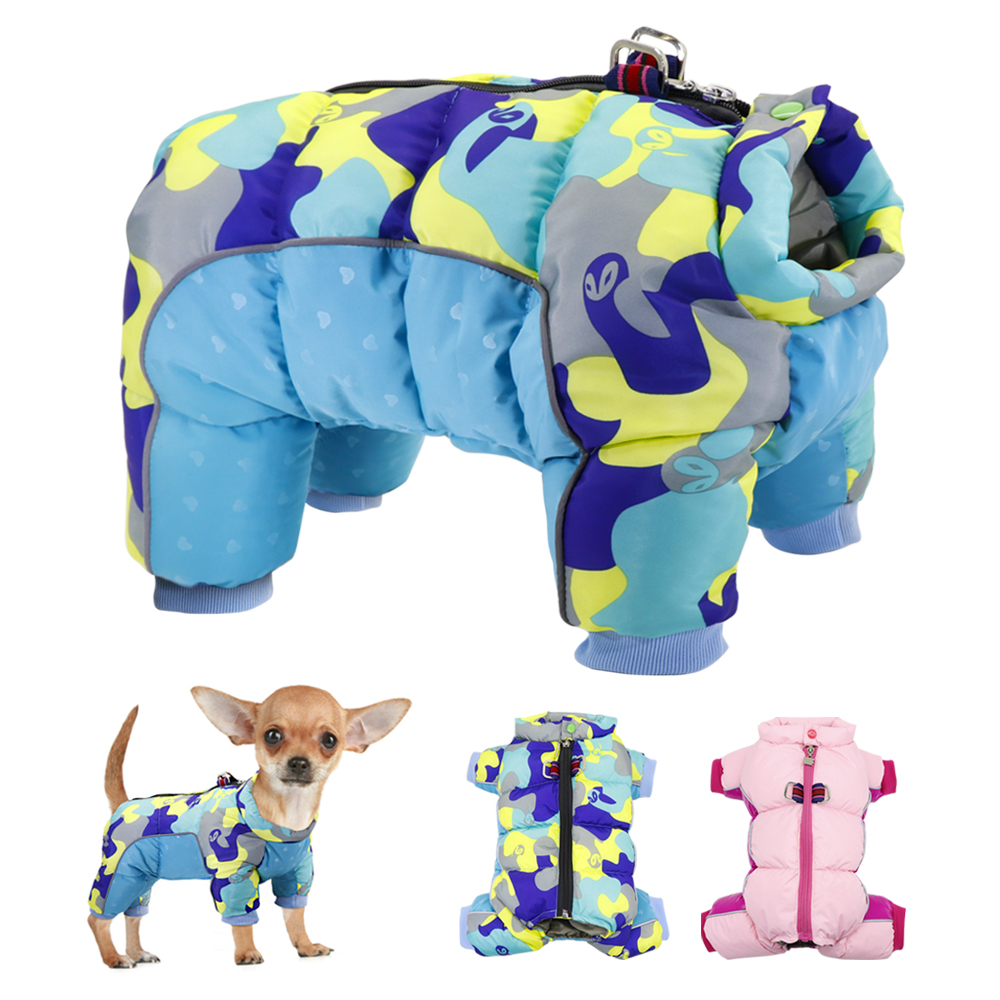 Winter <font><b>Pet</b></font> <font><b>Dog</b></font> Clothes Warm <font><b>Dog</b></font> Jacket Coat Waterproof Puppy Clothes for Small <font><b>Dogs</b></font> <font><b>Pets</b></font> <font><b>Clothing</b></font> For French Bulldog Chihuahua image