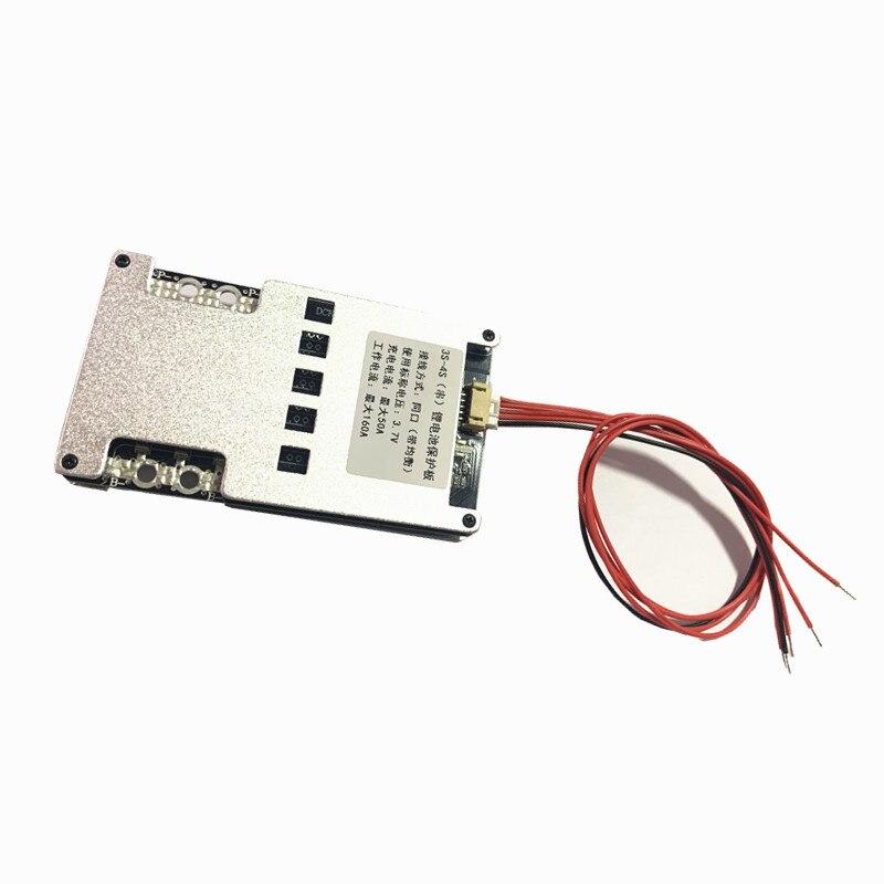 12.6 V/16.8 V 18650 BMS 3S 4S 300A Balance batterie Protection conseil Li-ion/LiFePo4 Ups onduleur, moto, voiture
