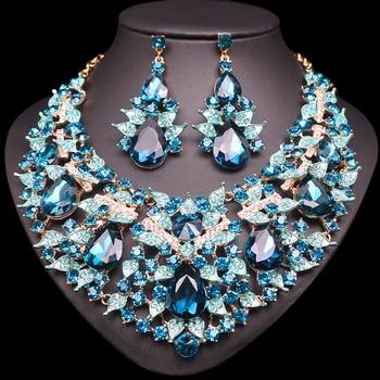 Luxury Leaves Jewelry Set 4