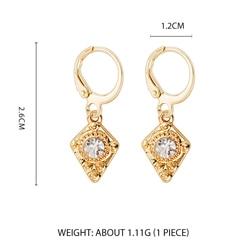 Дикие и свободные серьги-кольца в форме звезды для женщин, золотые медали, крест, маленькие глаза, крошечные обручи Huggie, серьги, стразы, минималистичное ювелирное изделие - Окраска металла: Style 3