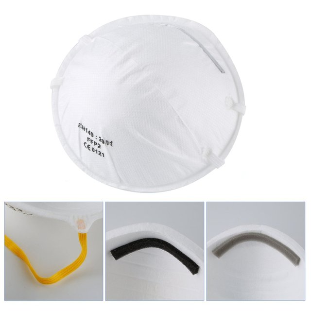 N95 6 layer Filter Mask Face Mask As FFP3 FFP2 Windproof Dustproof Anti PM2.5 Prevent Flu Mask KN 95Mask Features With Gift 5