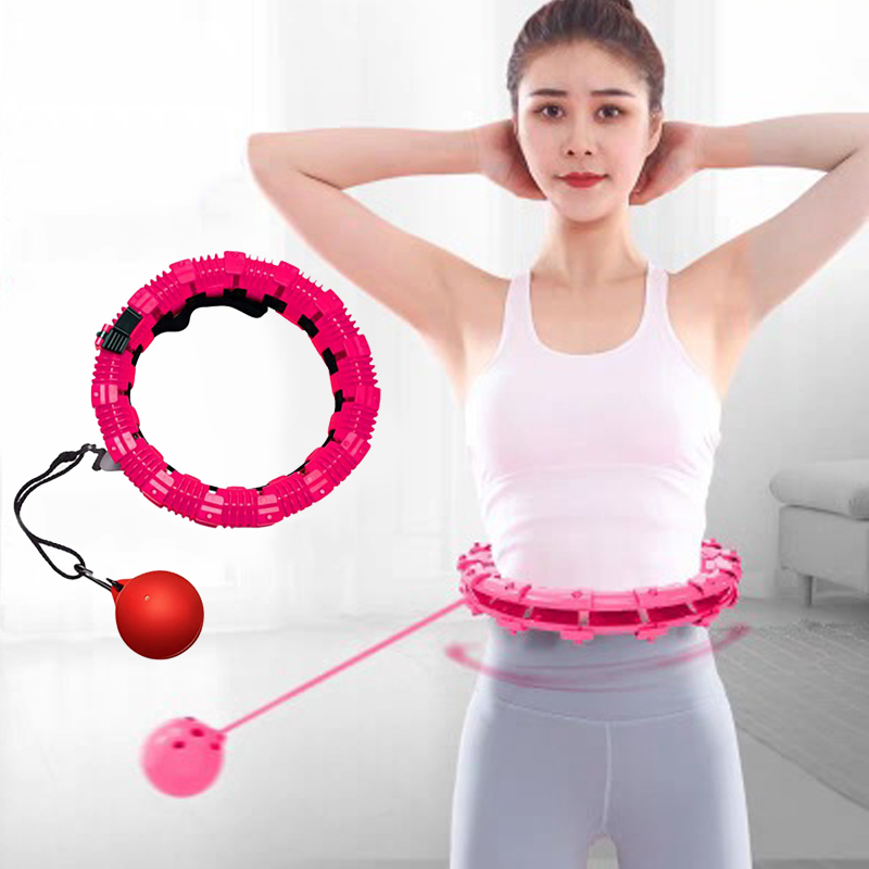 Smart Sport Hoops Detachable Adjustable Auto-Spinning Hoop Thin Waist Abdominal Exercise Gym Fitness Equipment Home Training