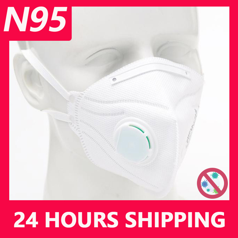 KN95 Disposable Face Masks N95 Protective Filter Mouth Respirator Dust Mask Flu Facial template ffp2 Pm2.5 mouth  Gas Cover|Masks| |  - title=