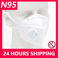 KN95 Disposable Face Masks N95 Protective Filter Mouth Respirator Dust Mask Flu Facial template ffp2 Pm2.5 mouth  Gas Cover|Masks| |  -