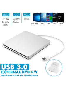 Dvd-Player Recorder Writer Burner Load-Drive Laptop Slot Imac Apple Macbook CD/DVD External