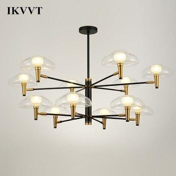 IKVVT Creative Jellyfish Design Bedroom Light Pendant Lamp Restaurant Living Room Chandelier Children Retro Lamps Led Room Lamp