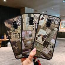 Xiaomi Caso de Telefone Retro nostálgico Para Redmi 4X 5 Plus 6 6A 7 7A 8 8A 9 Nota 4 8 T 9 Por