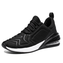 New Couple Shoes Men Chunky Sneakers Quality Leather Mesh Pa