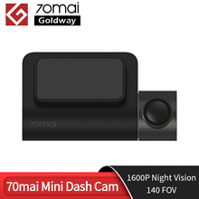 Originale 70mai Mini Dash Cam 70 MAI Mini Car Camera Recorder 140 FOV 1600P visione notturna Wifi Mini Car DVR APP Control multi DVR
