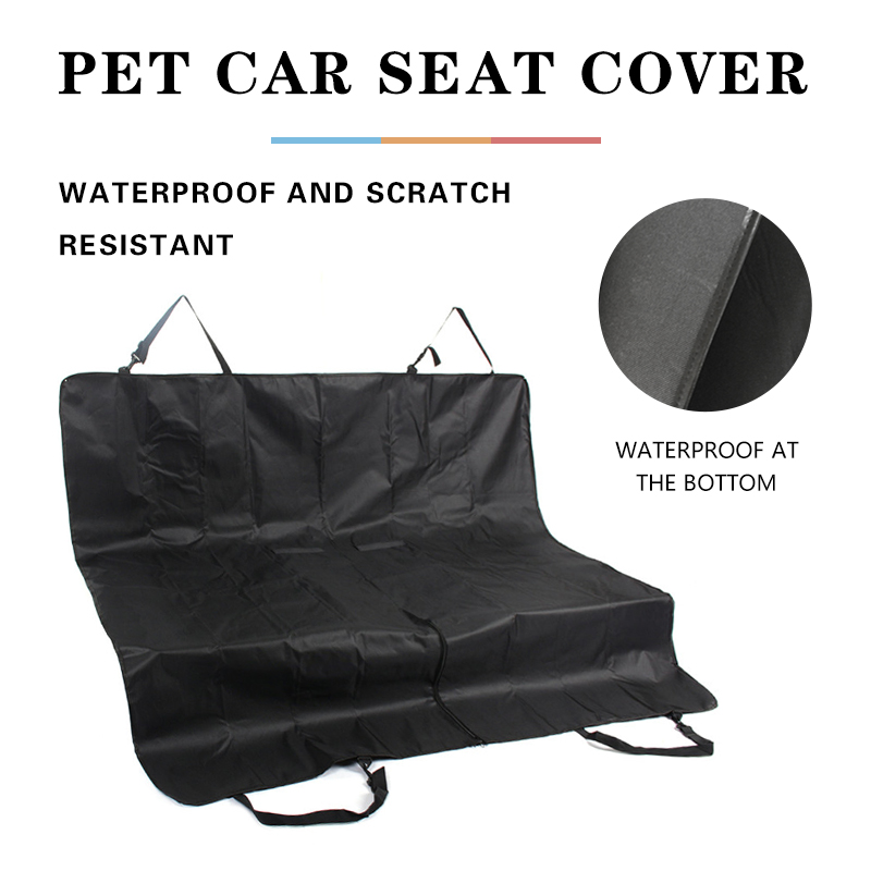 Foldable Dog Car Seat Cover Waterproof Pet Car Mat Hammock For Small Medium Large Dogs Travel Car Rear Back Seat Safety Cushion