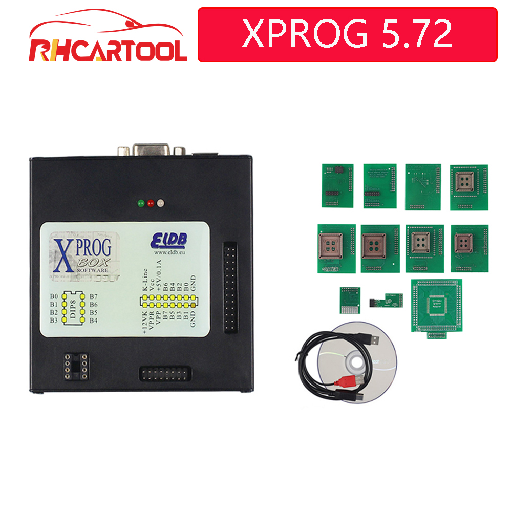 2019 <font><b>XPROG</b></font> 5.72 Box ECU Programmer Interface better and update <font><b>XPROG</b></font> <font><b>M</b></font> <font><b>XPROG</b></font> V5.70 ECU Diangostic Tool with additional function image